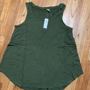 NWT Luxe Swing Tank, OLIVE
